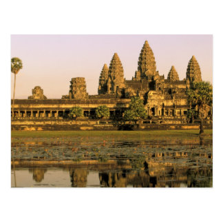 Asia, Cambodia, Siem Reap. Angkor Wat. Post Card