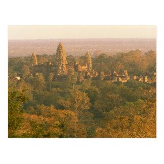 Asia, Cambodia, Siem Reap. Angkor Wat. Postcard