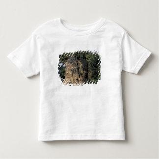 Asia, Cambodia, Siem Reap. Huge stone sculptures Toddler T-shirt