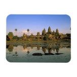 Asia, Camboya, Siem Reap. Angkor Wat. 2 Imán Rectangular