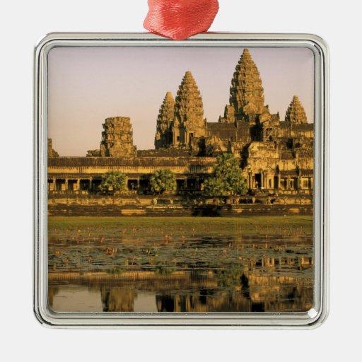 Asia, Camboya, Siem Reap. Angkor Wat. Ornaments Para Arbol De Navidad