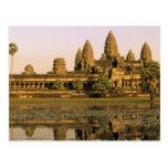 Asia, Camboya, Siem Reap. Angkor Wat. Postal