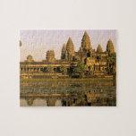 Asia, Camboya, Siem Reap. Angkor Wat. Rompecabezas Con Fotos