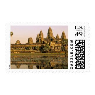 Asia, Camboya, Siem Reap. Angkor Wat. Timbre Postal