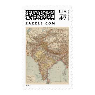 Asia Central, la India Sello