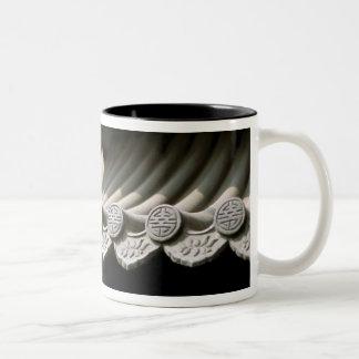 Asia, China, Beijing. Forbidden City, large Two-Tone Coffee Mug