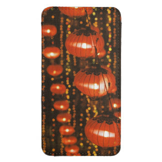 Asia, China, Beijing. Red Chinese lanterns, Galaxy S4 Pouch