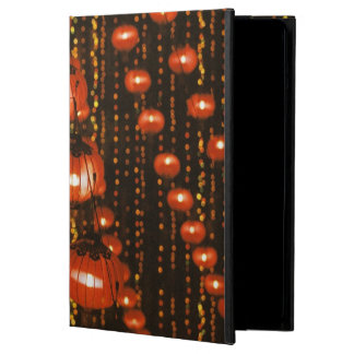 Asia, China, Beijing. Red Chinese lanterns, iPad Air Cover