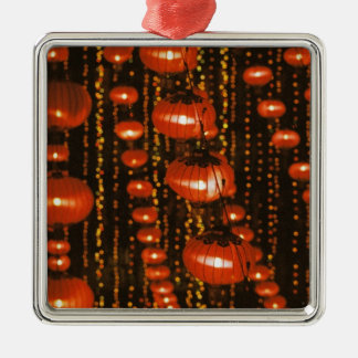 Asia China Beijing Red Chinese lanterns Ornaments