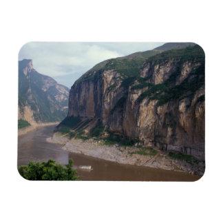 Asia, China, el río Yangzi, Three Gorges. Iman Flexible