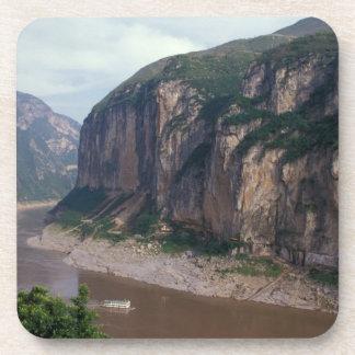 Asia, China, el río Yangzi, Three Gorges. Posavasos De Bebida