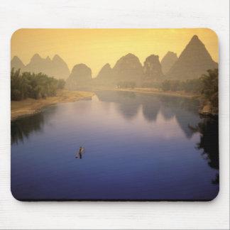 Asia China Guangxi Province Yangshuo Lone Mouse Pad