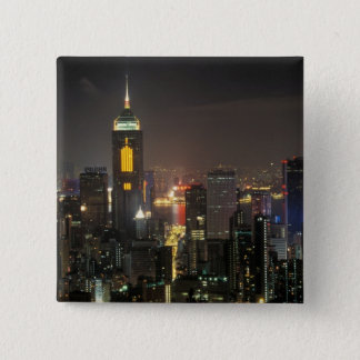 Asia, China, Hong Kong, central from Stubbs road Button