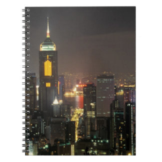 Asia, China, Hong Kong, central from Stubbs road Notebook