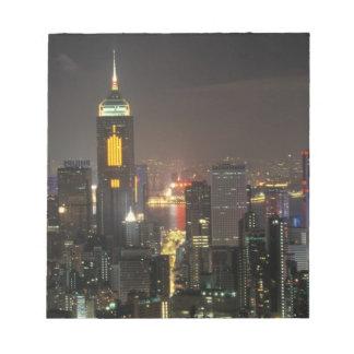Asia, China, Hong Kong, central from Stubbs road Notepad