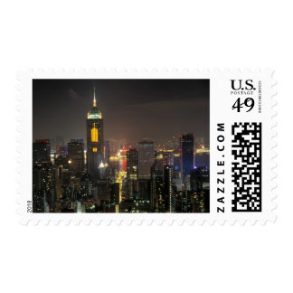 Asia, China, Hong Kong, central from Stubbs road Postage