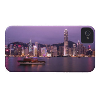 Asia, China, Hong Kong, city skyline and iPhone 4 Case