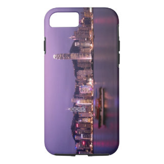 Asia, China, Hong Kong, city skyline and iPhone 7 Case