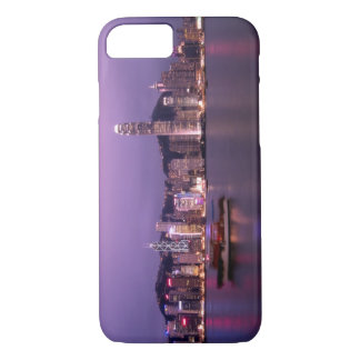Asia, China, Hong Kong, city skyline and iPhone 8/7 Case