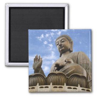 Asia, China, Hong Kong, Lantau Island, Ngong 2 Inch Square Magnet