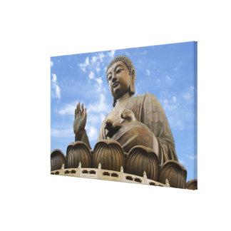 Asia, China, Hong Kong, Lantau Island, Ngong Canvas Print