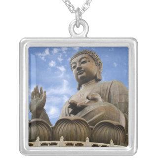 Asia, China, Hong Kong, Lantau Island, Ngong Square Pendant Necklace