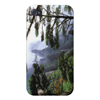 Asia, China, Huanshan. The yellow mountain iPhone 4 Covers