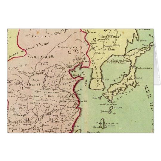 Asia, China, Japan Card