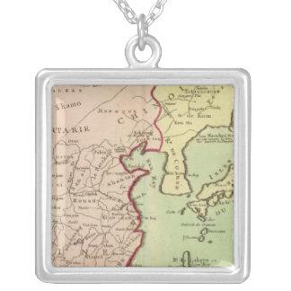 Asia, China, Japan Square Pendant Necklace