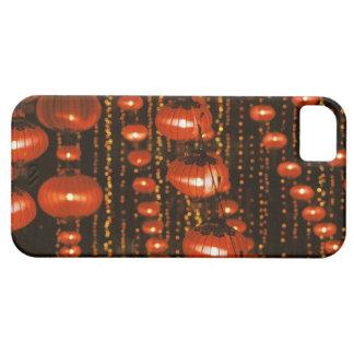Asia, China, Pekín. Linternas chinas rojas, Funda Para iPhone SE/5/5s