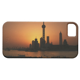 ASIA, China, Shanghai View of Oriental Pearl TV iPhone SE/5/5s Case