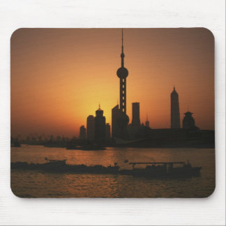 ASIA, China, Shanghai View of Oriental Pearl TV Mouse Pad
