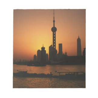 ASIA, China, Shanghai View of Oriental Pearl TV Note Pad