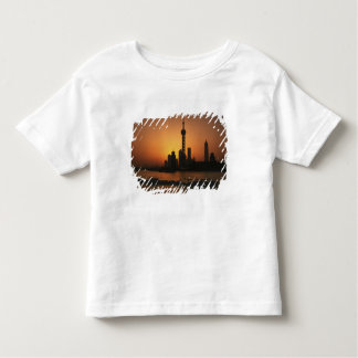 ASIA, China, Shanghai View of Oriental Pearl TV Toddler T-shirt