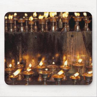 Asia, China, Tibet, Lhasa. Prayer flames, Mouse Pad