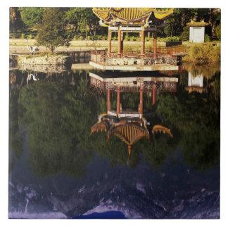 Asia, China, Yunnan, Dali. Cangshan Mountains Tile