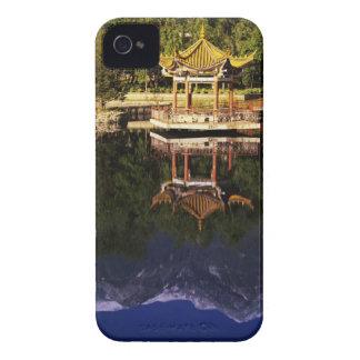 Asia, China, Yunnan, Dali. Montañas de Cangshan iPhone 4 Fundas