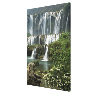 Asia, China, Yunnan Province, Qujing, Luoping Canvas Print