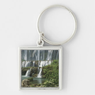 Asia, China, Yunnan Province, Qujing, Luoping Keychain