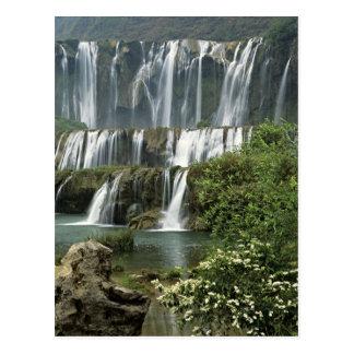 Asia, China, Yunnan Province, Qujing, Luoping Postcard