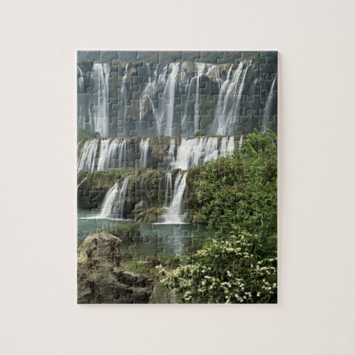 Asia, China, Yunnan Province, Qujing, Luoping Jigsaw Puzzles
