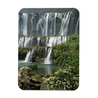 Asia, China, Yunnan Province, Qujing, Luoping Rectangular Photo Magnet