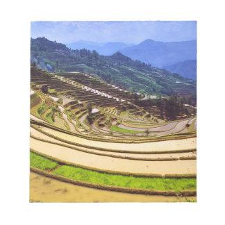 Asia, China, Yunnan Province, Yuanyang County. Notepads