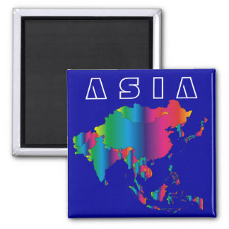 ASIA Country Magnet