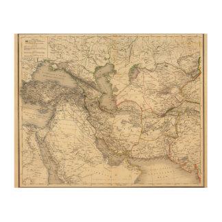 Asia del oeste impresiones en madera