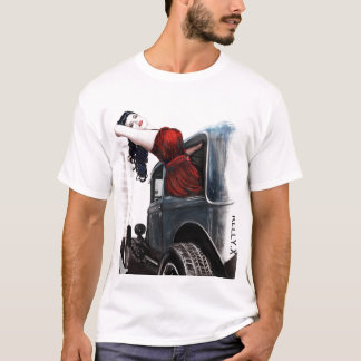 Asia Devinyl and Model T T-Shirt