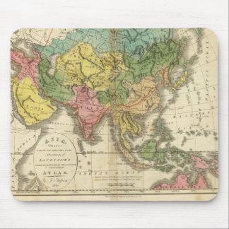 Asia e imperio de Genghis Kahn Alfombrillas De Ratón