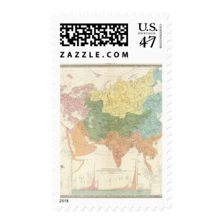 Asia, Europe river systems Postage