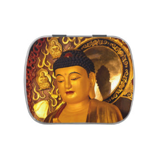 Asia Golden Buddha Candy Tins