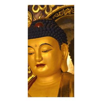 Asia Golden Buddha Card